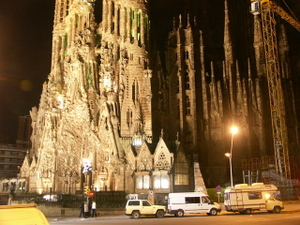 Sagradafamilianight